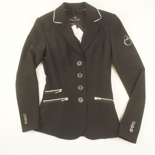 Equiline Turnierjacket JASMINE m. Silberapplikationen, Gr. 32 (IT36), NEU m. Etikett