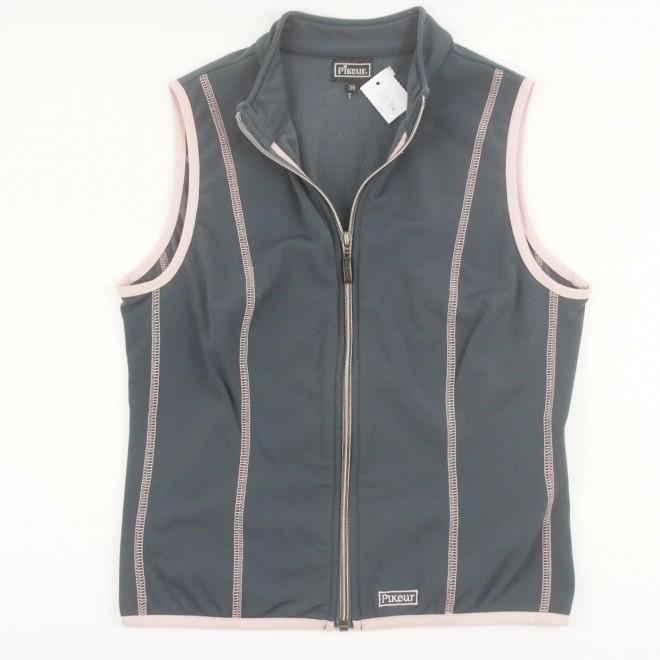 Pikeur Softshellweste grau-rosa, Gr. 38, guter Zustand