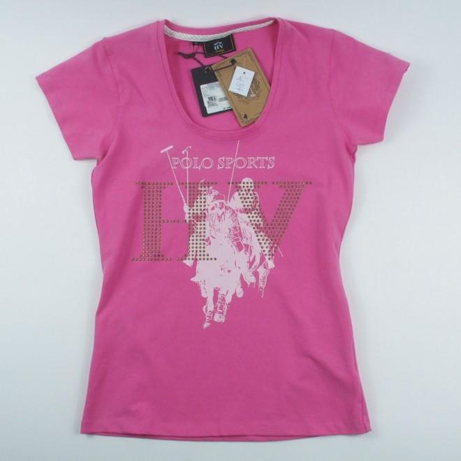 HV Polo T-Shirt MORONO m. Nieten, Gr. S, NEU m. Etikett