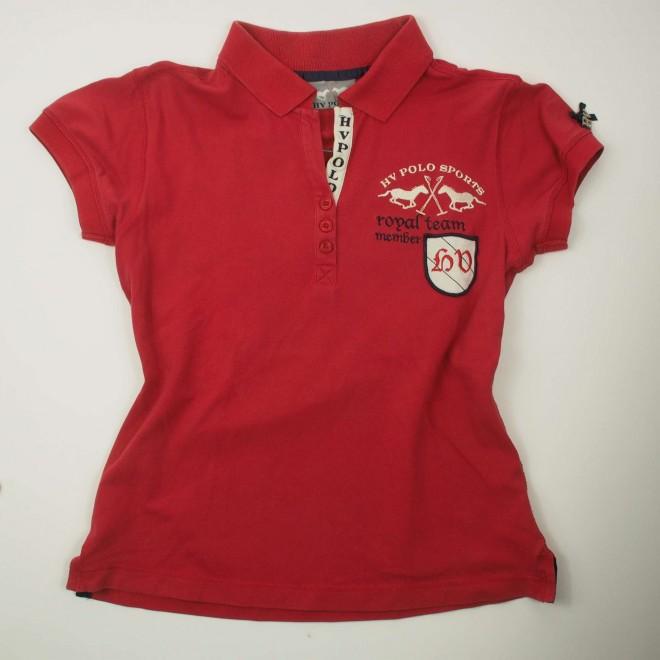HV Polo Polo-Shirt m. Rückenpatch, Gr. XS, guter Zustand