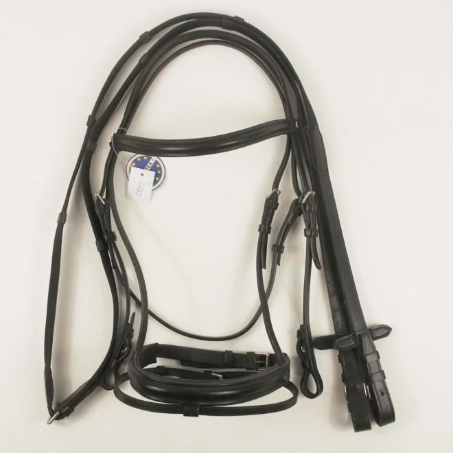 LEMETEX Pony Trense, schwarz, NEU m. Etikett