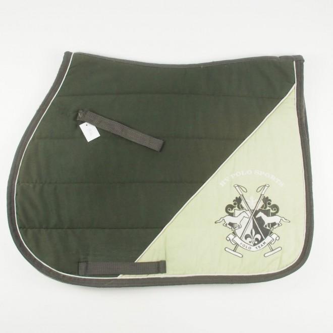 HV Polo Schabracke, grün, WB, Springen, guter Zustand