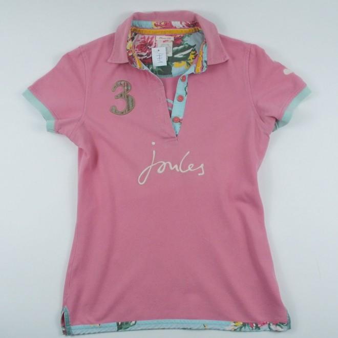Joules Polo Shirt ROYALBEAUFORT, m. Patches, Gr. XS, guter Zustand