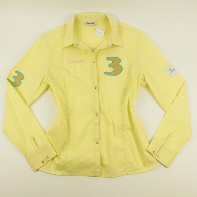 Cavallo Langarm-Bluse m. Details, Gr. 40, super Zustand
