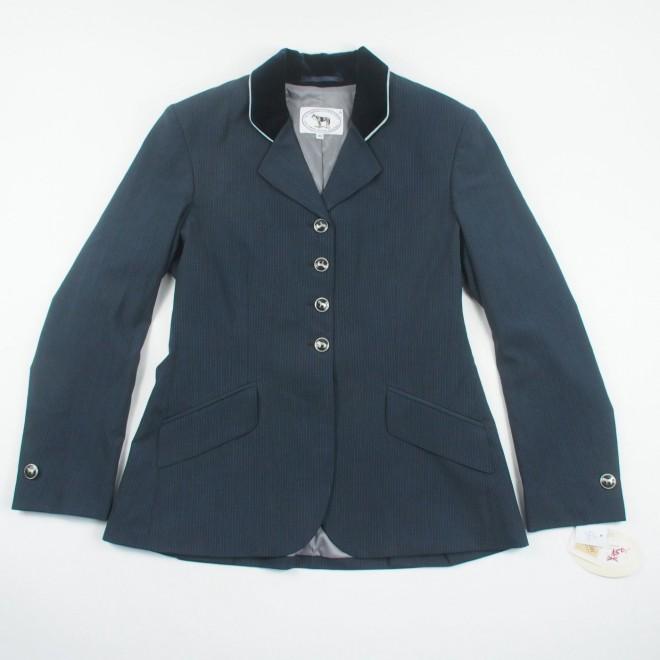 Iris Bayer Turnierjacket m. Nadelstreifen/Teflon, jeans, Gr. 40, NEU m. Etikett