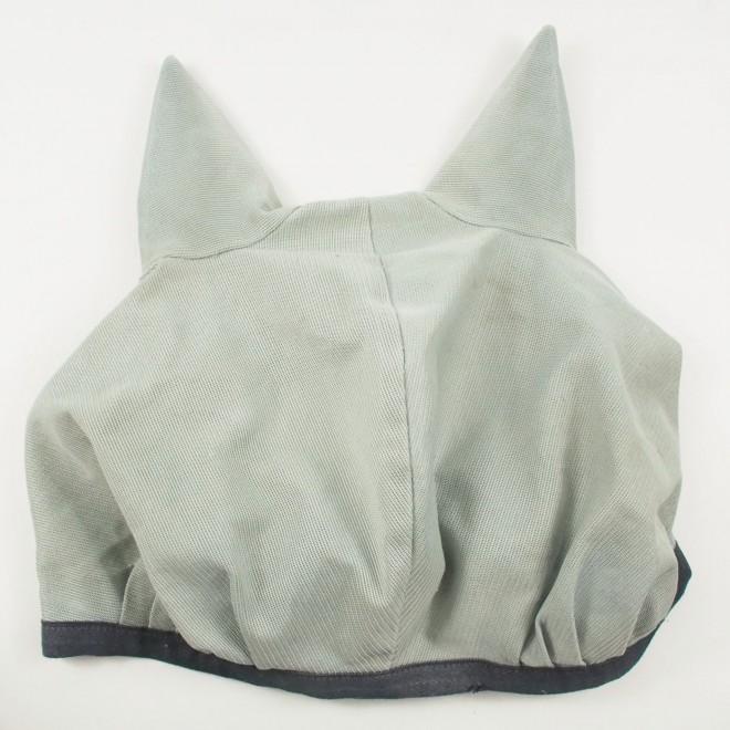 Bucas Fliegenmaske, silber, WB, guter Zustand