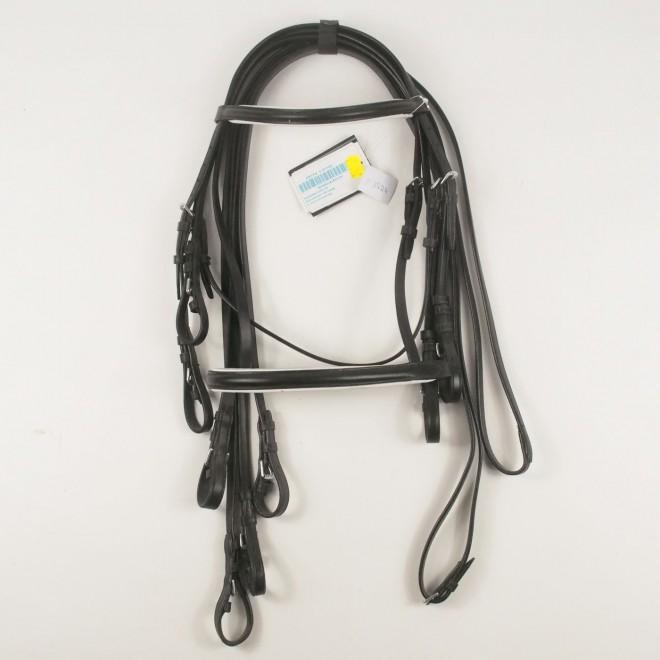 Kieffer Silverline Kandarenzaum CAROLINA, M-Pony, NEU m. Etikett