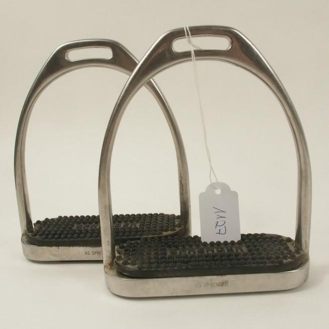 Sprenger Steigbügel FILLIS m. Einlagen, 12cm, sehr guter Zustand