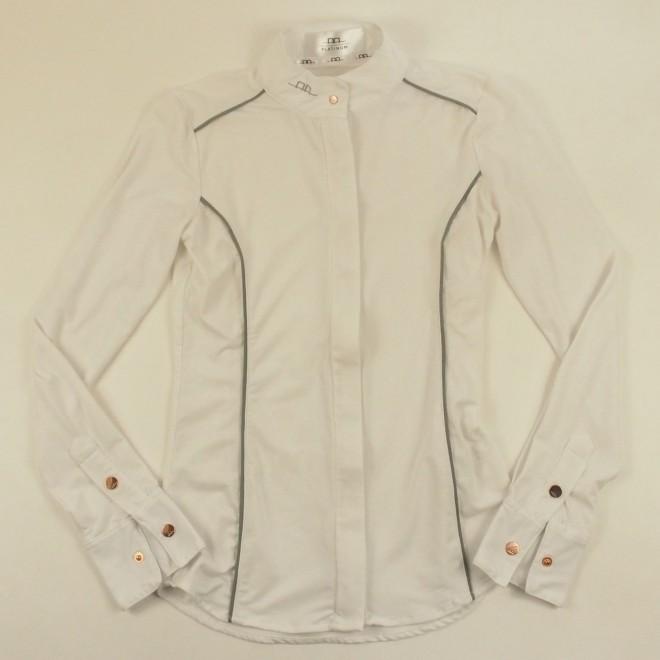 Alessandro Albanese Turniershirt PLATINUM m. Details, Gr. XS/36, super Zustand