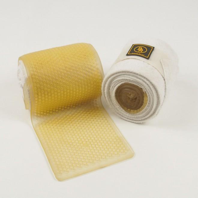 Acavallo/BR Therapiebandagen mit Gel, weiß, sehr guter Zustand