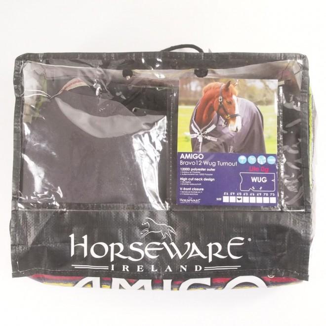 Horseware Regendecke AMIGO BRAVO 12 WUG TURNOUT LITE, 130cm, guter Zustand