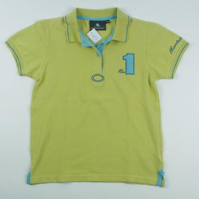 Mountain Horse Polo Shirt m. Patch und Stickerei, Gr. 160, guter Zustand