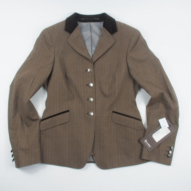 Cavallo Turnierjacket GALATHEA, braun, Gr. 38, NEU m. Etikett