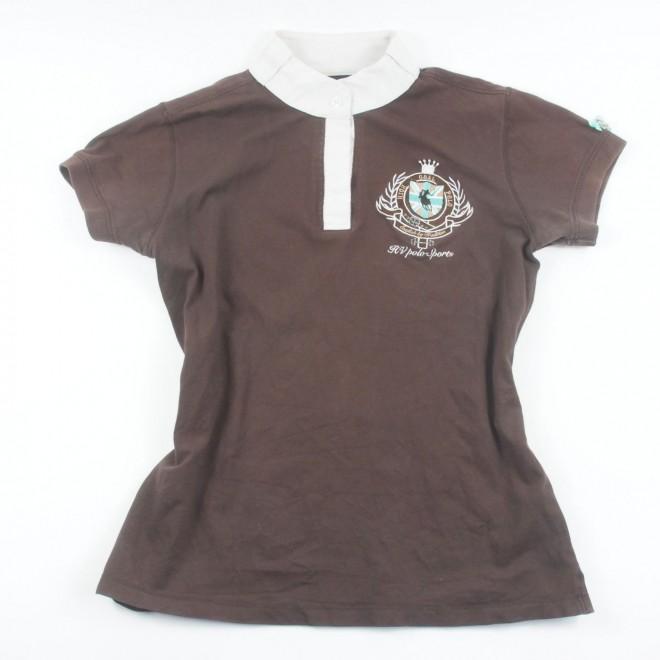 HV Polo Turniershirt m. Patch und Stickerei, Gr. XL, guter Zustand