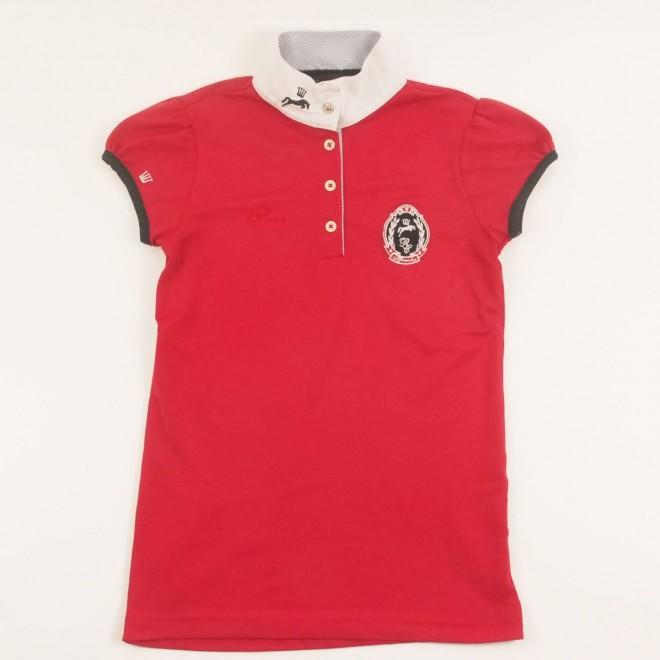Spooks Turniershirt m. Details, rot, Gr. XS, guter Zustand