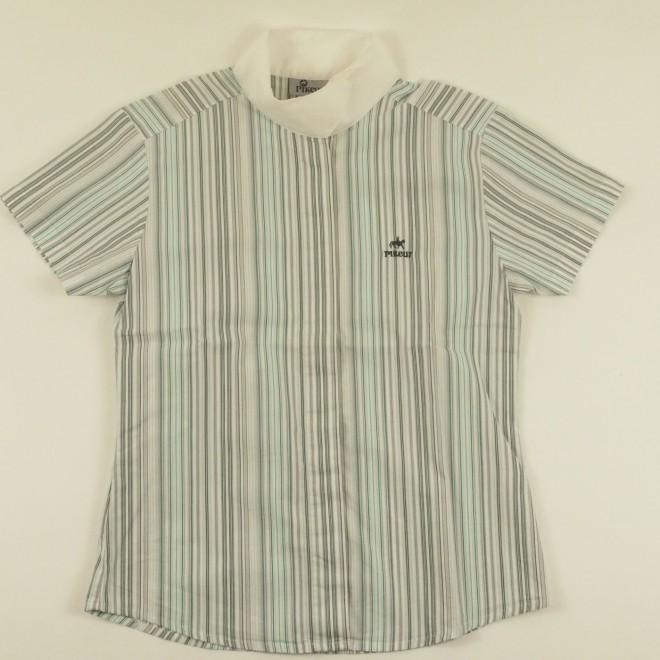 Pikeur Kinder-Turniershirt, gestreift, Gr. 152, guter Zustand