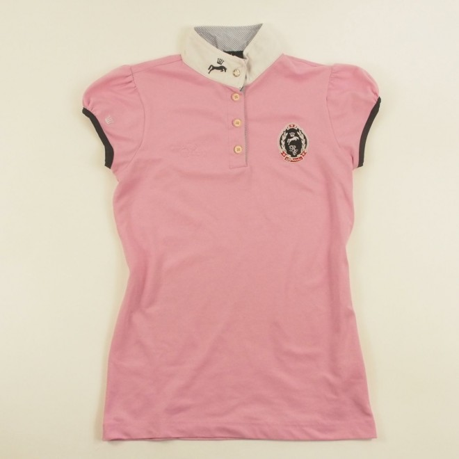 Spooks Turniershirt rosa m. Details, Gr. S, guter Zustand