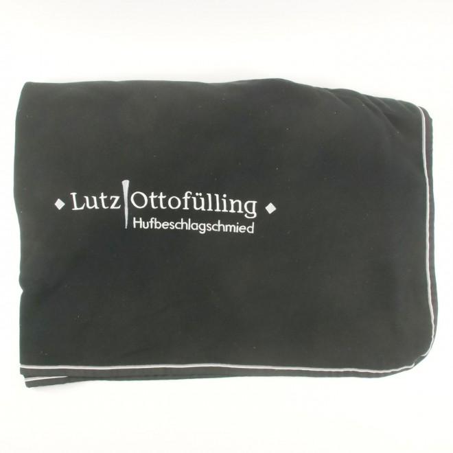 EQuest Sponsoren-Abschwitzdecke Fleece, Gr. XL/155cm, super Zustand