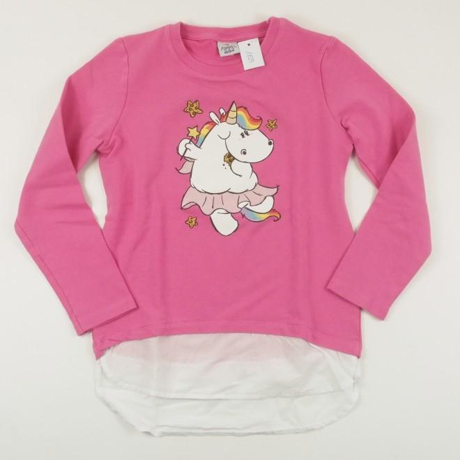 Pummeleinhorn Pullover PUMMELFEE, pink, Gr. 140/10A, super Zustand