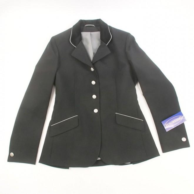 Euroriding BUKAREST Turnierjacket, schwarz, Gr. 80 (40 lang), NEU m. Etikett