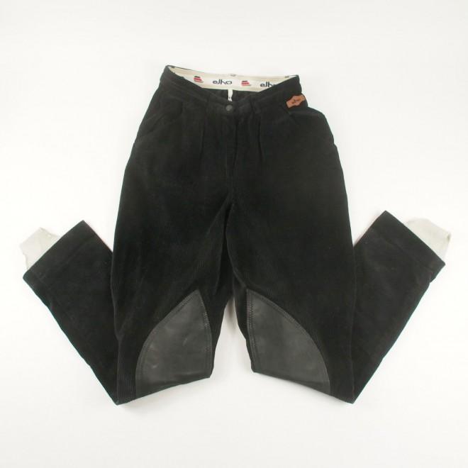 Elho Cord-Jodhpur-Reithose m. Echtleder-Kniebesatz, Gr. 76 (38 lang), sehr guter Zustand