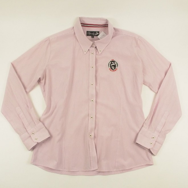 Spooks Langarm-Bluse m. Patch, Gr. XL, sehr guter Zustand